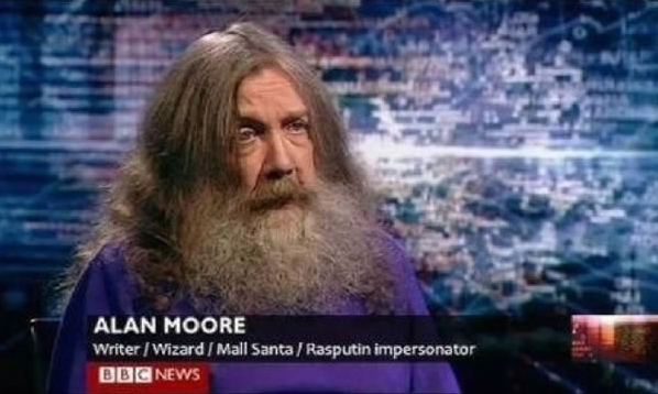 Wizard, mall santa etc